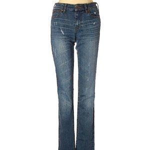 J.Crew Boho Distressed Dark Wash Jeans